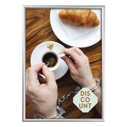 A5 alumínium plakátkeret  [15mm profil]