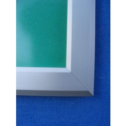 A5 alumínium plakátkeret  [20mm profil] trapéz szögletes