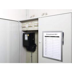 Duraframe® NOTE Magnetic A4 - ezüst (4989-23)  jegyzeteléshez