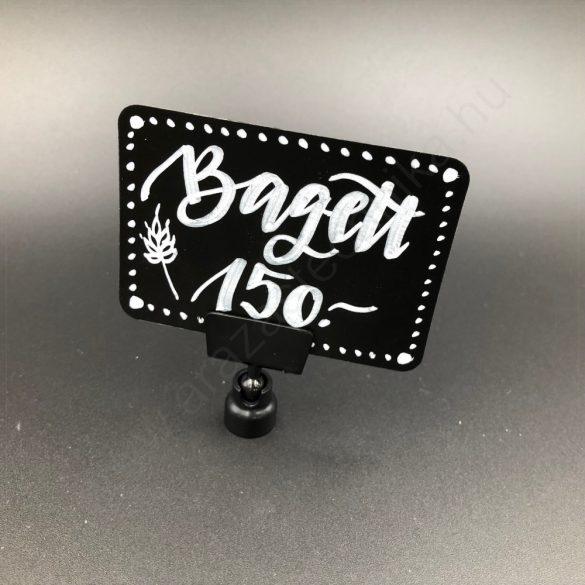 Ártábla tartó mágnes - fekete