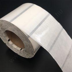 50x30 mm PP CLEAR műanyag átlátszó címke