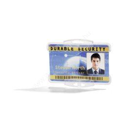 Biztonsági kártyatartó - nyitott áttetsző (8918-19)