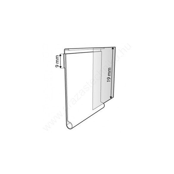 Ársín 2cm × 60cm átlátszó - filmragasztó