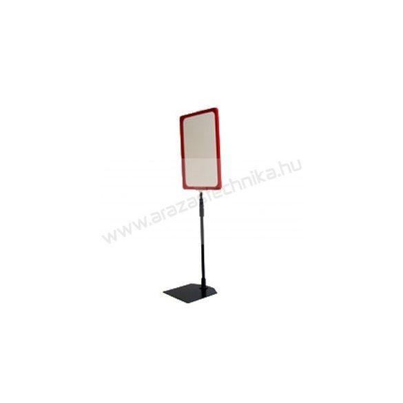 Információs állvány - A5 plakátkeret + (kihúzható SZÁR 2*50 cm) + PVC lapvédő fólia