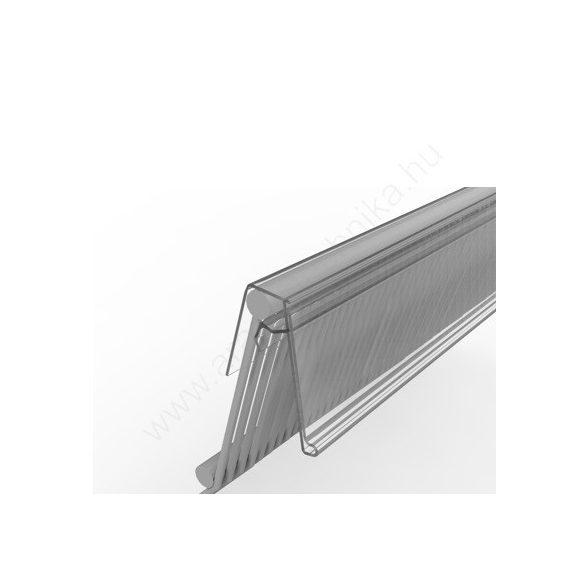 AKASZTÓS 4 cm × 1,235 m átlátszó