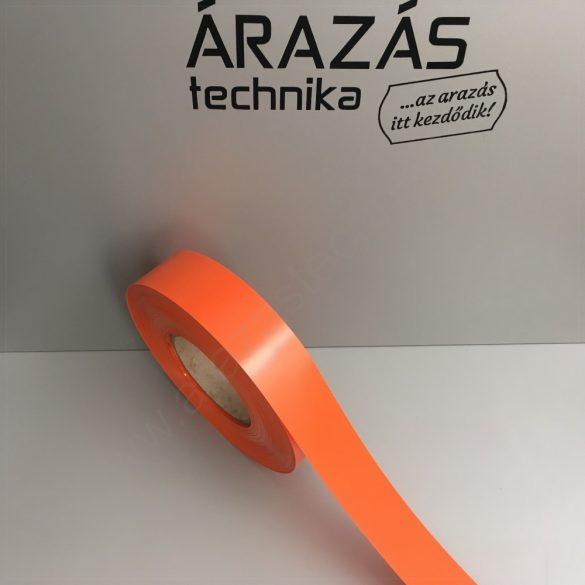 Háttércsík PVC 4cm × 100 méter - NARANCS