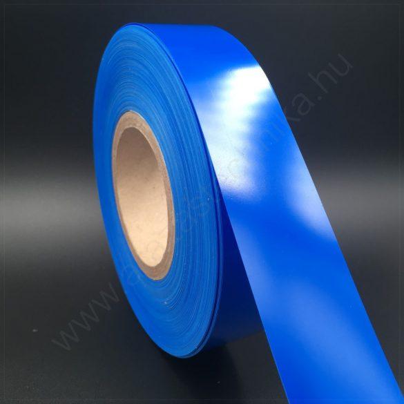 Háttércsík PVC 4cm × 100 méter - KÉK