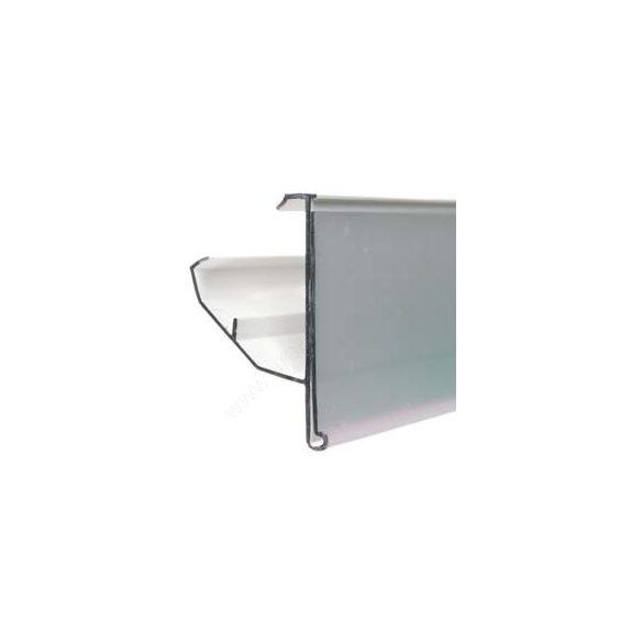 PATTINTÓS ársín 4cm × 985 mm TLS, Linde polchoz (átlátszó hátlap)