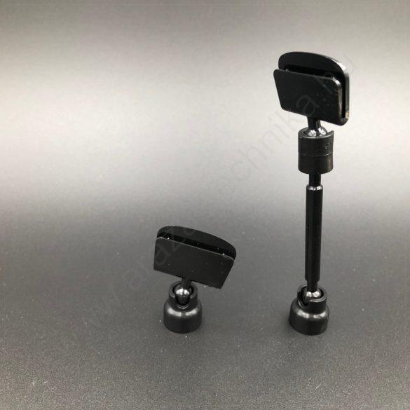 Ártábla tartó mágnes (5 cm szár) - fekete