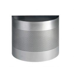 Papírkosár - 20 L - félkör alakú P165mm dekor gyűrűvel (3317-23)