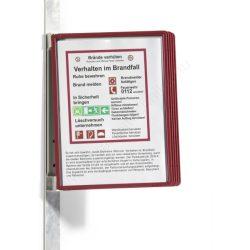 Vario® Magnet Wall 5db A4 - FALI lapozó (5914-03) piros