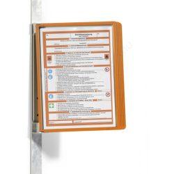 Vario® Magnet Wall 5db A4 - FALI lapozó (5914-09) narancs