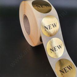 38 mm ARANY papír körcímke - NEW (1000 db/tek)