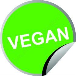 Körcímke 20mm - Vegan