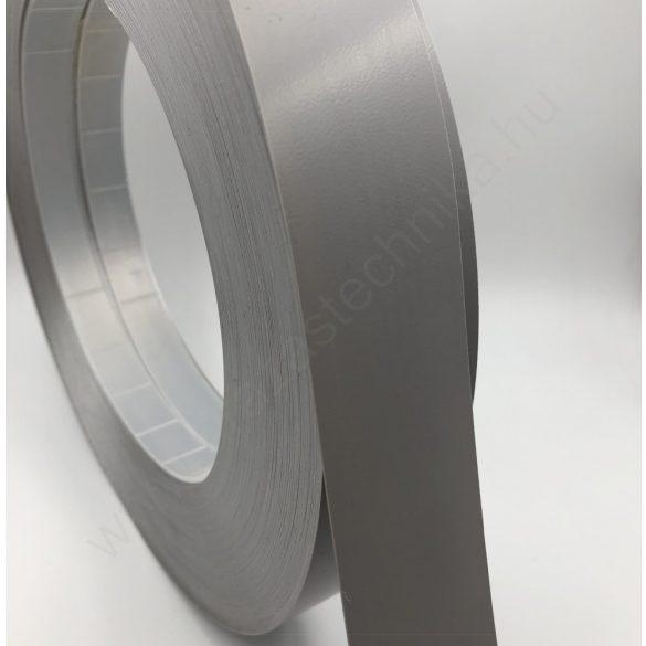 Háttércsík PVC 4cm × 100 méter - ezüst (RAL9006)