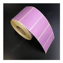 40x25mm THERMO címke - LILA P.2572 (2.000 db/40)
