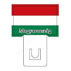 Magyar zászló - 60×40mm