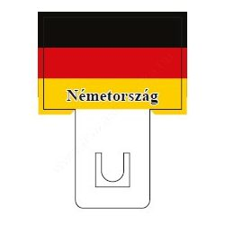 Német zászló - 60×40mm