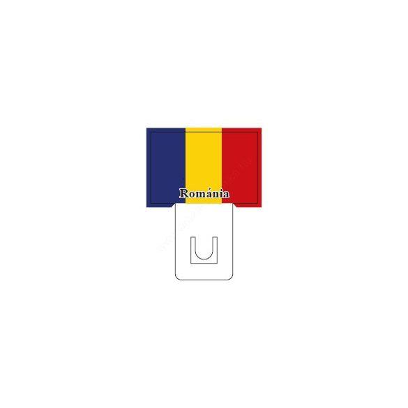 Román zászló - 60×40mm