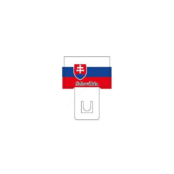 Szlovák zászló - 60×40mm