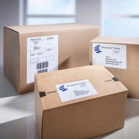 Csomag címke