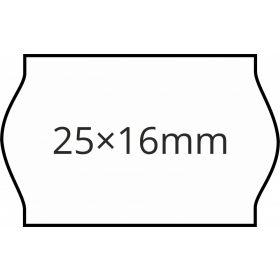 25×16mm árazószalag